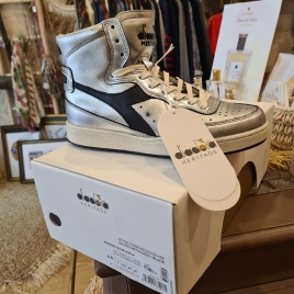 SNEAKERS MONTANTE ARGENT