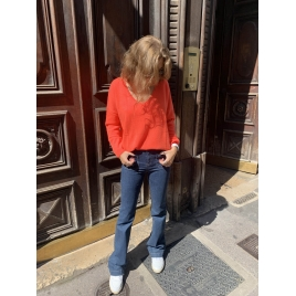 PULL ANGELE CORAIL FLUO